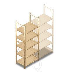 BT Combi houten legbordstelling samenstellen