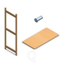 BT Euro houten legbordstelling onderdelen en accessoires