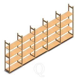 BT Euro houten legbordstelling voordeelrijen