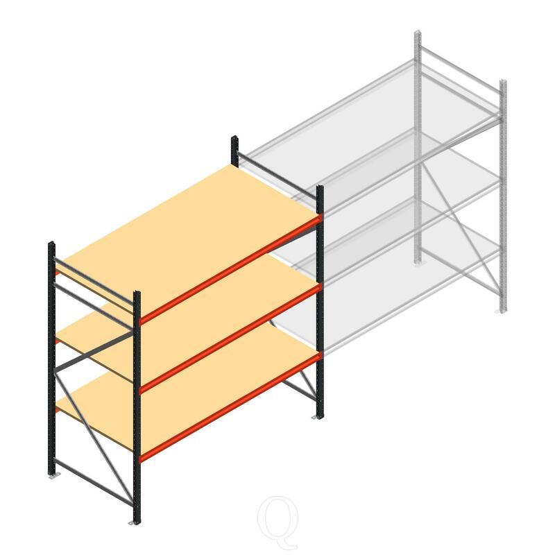Beginsectie AR grootvakstelling 2000x1850x900 - 3 niveaus