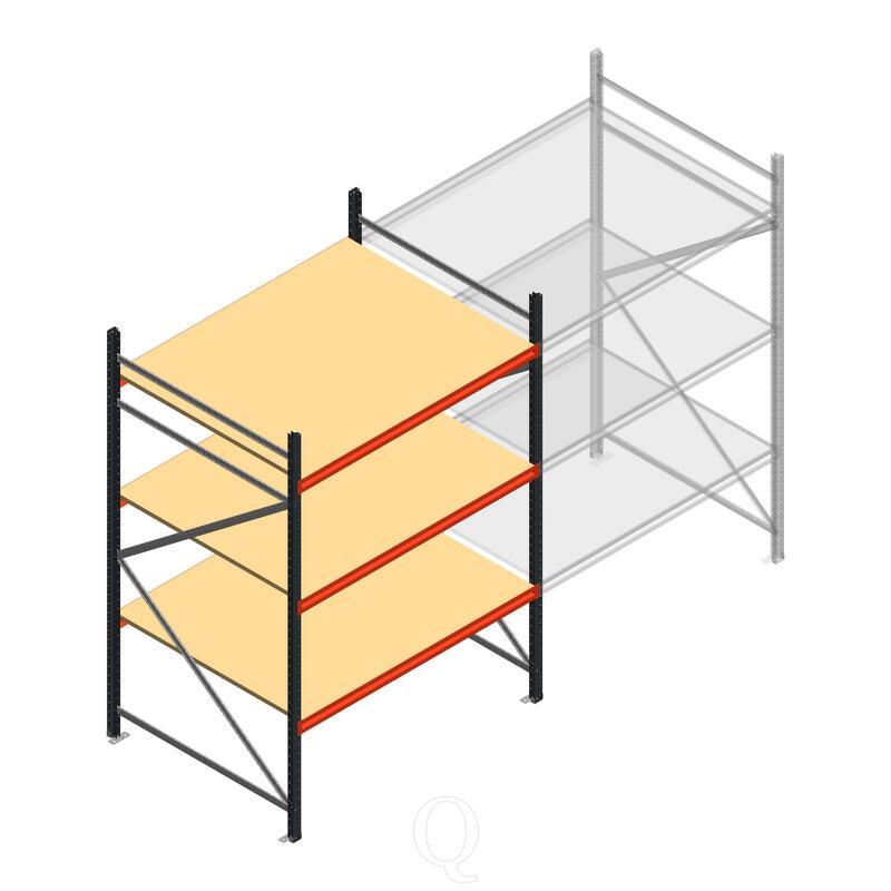 Beginsectie AR grootvakstelling 2250x1500x1200 - 3 niveaus