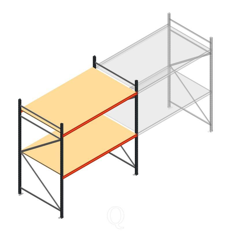 Beginsectie AR grootvakstelling 2250x1850x1200 - 2 niveaus