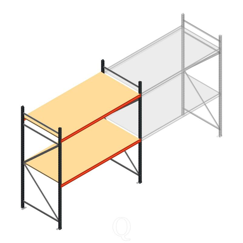 Beginsectie AR grootvakstelling 2500x1850x1000 - 2 niveaus