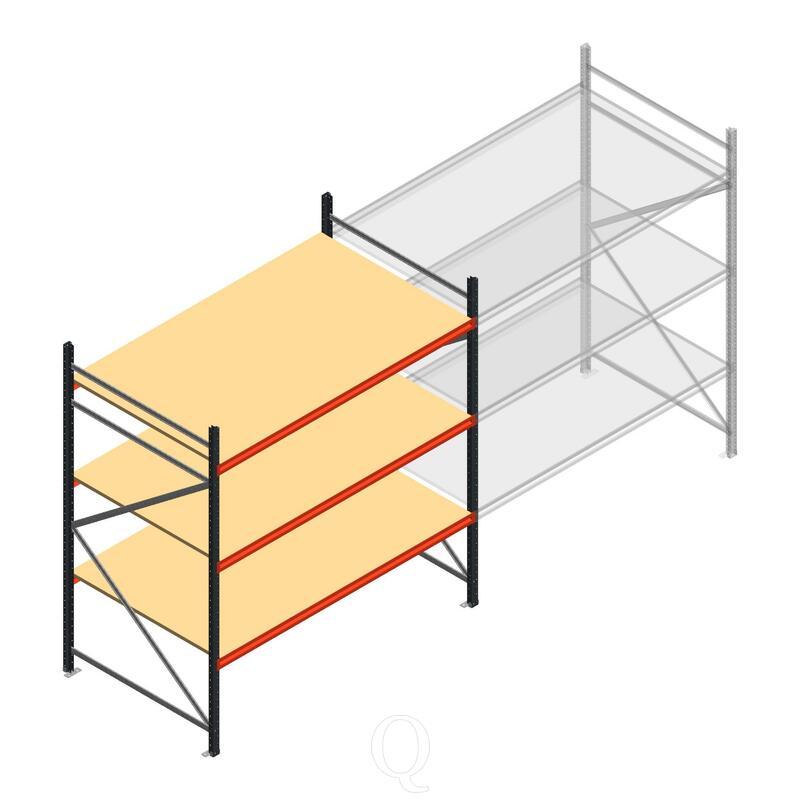 Beginsectie AR grootvakstelling 2500x1850x1200 - 3 niveaus