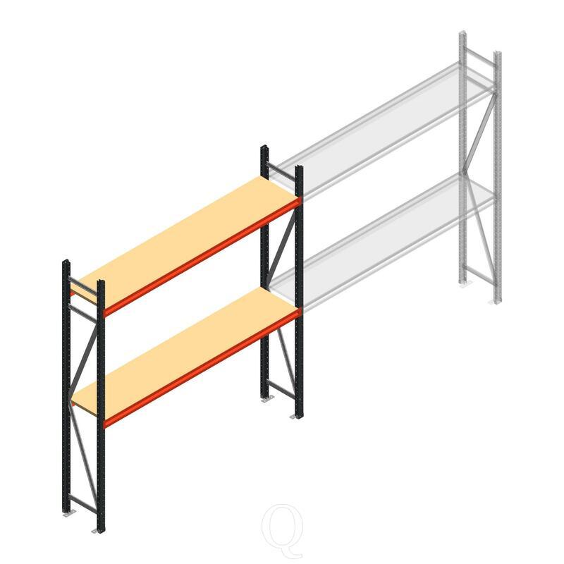 Beginsectie AR grootvakstelling 2500x1850x500 - 2 niveaus