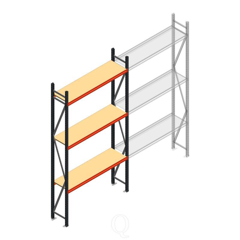 Beginsectie AR grootvakstelling 3000x1500x400 - 3 niveaus