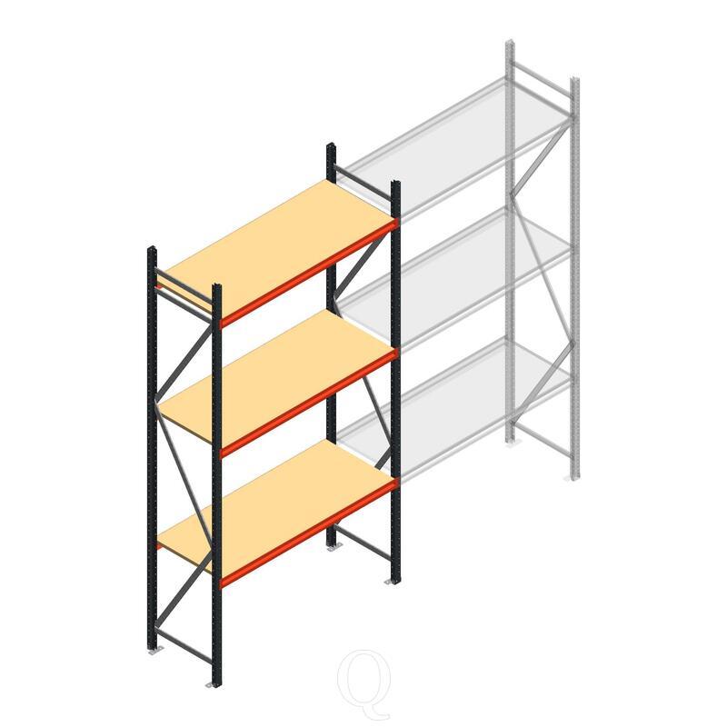 Beginsectie AR grootvakstelling 3000x1500x600 - 3 niveaus