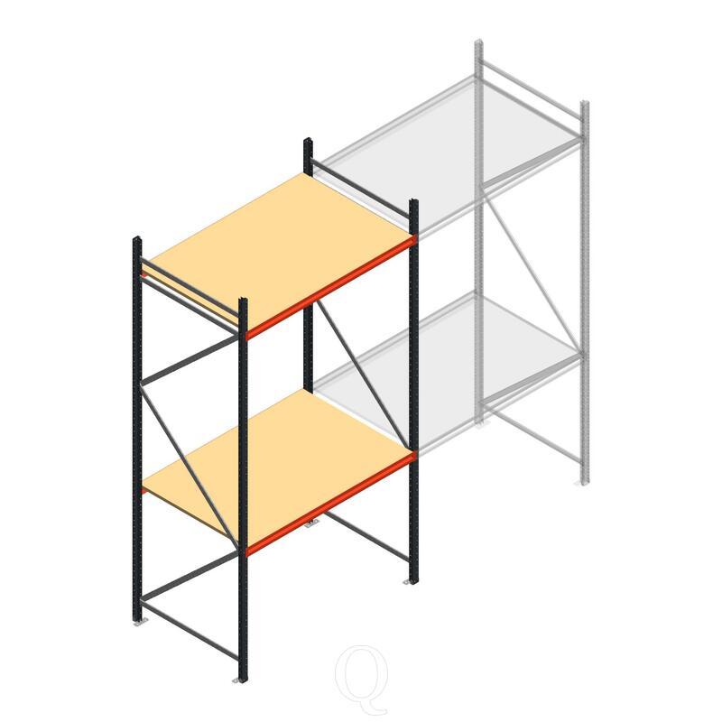 Beginsectie AR grootvakstelling 3000x1610x1000 - 2 niveaus