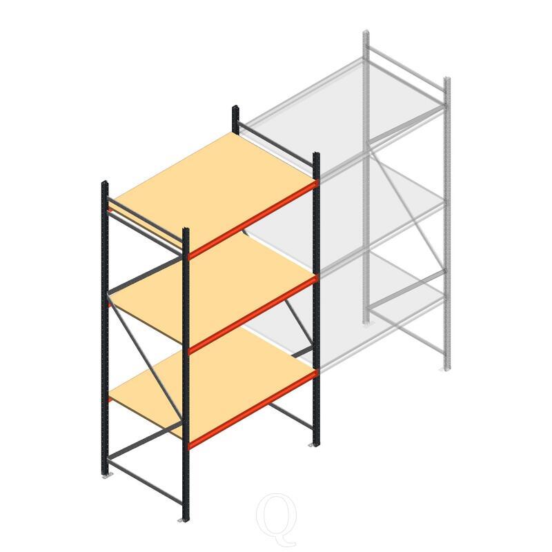 Beginsectie AR grootvakstelling 3000x1610x1000 - 3 niveaus