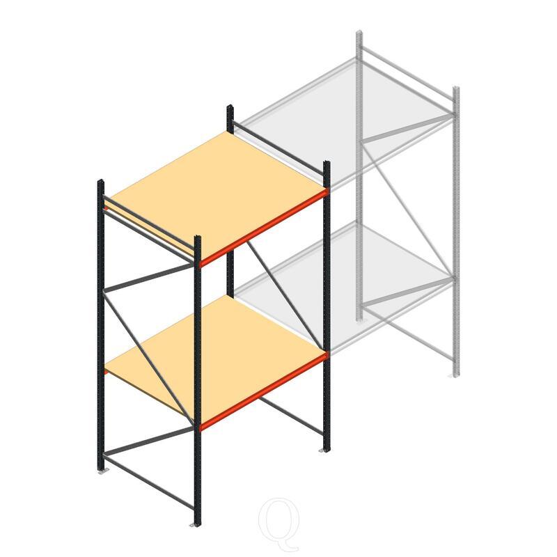 Beginsectie AR grootvakstelling 3000x1610x1200 - 2 niveaus