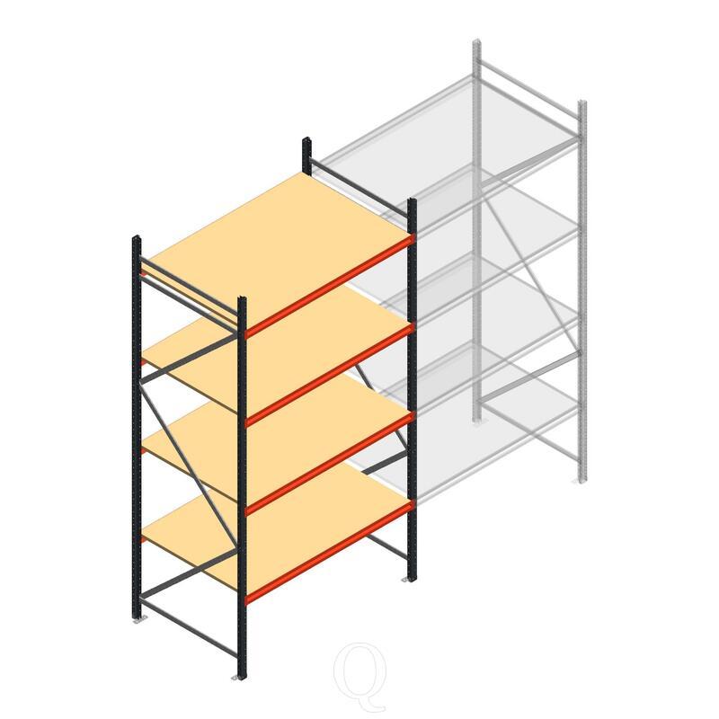 Beginsectie AR grootvakstelling 3000x1610x900 - 4 niveaus