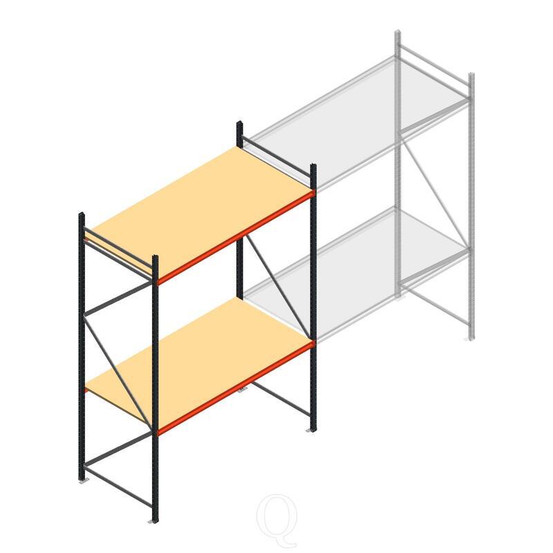Beginsectie AR grootvakstelling 3000x1850x1000 - 2 niveaus