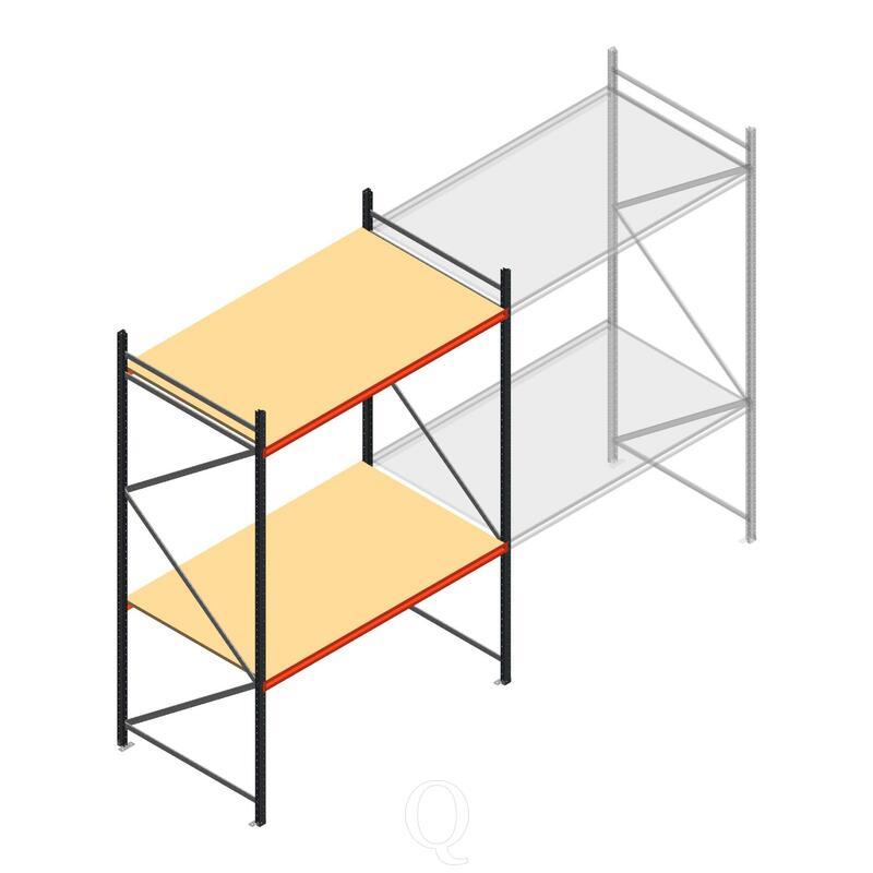 Beginsectie AR grootvakstelling 3000x1850x1200 - 2 niveaus