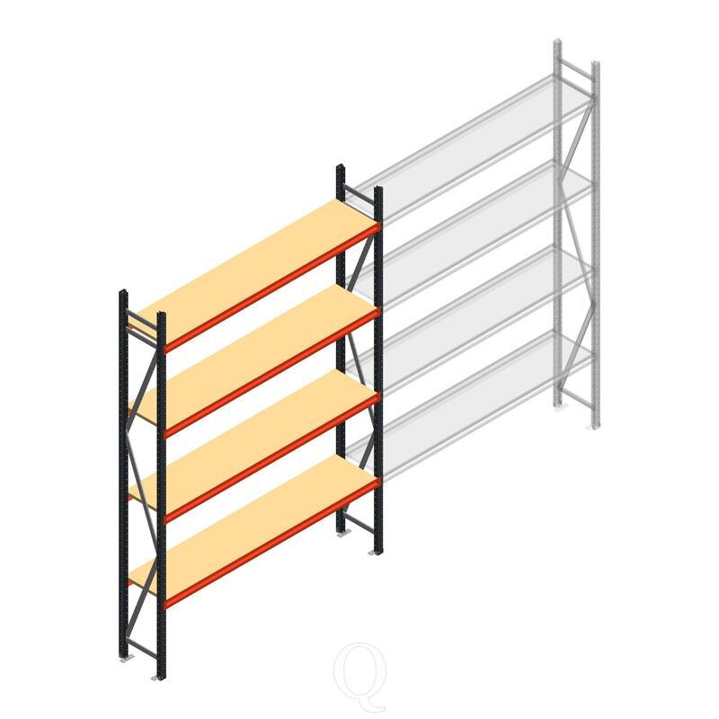 Beginsectie AR grootvakstelling 3000x1850x500 - 4 niveaus