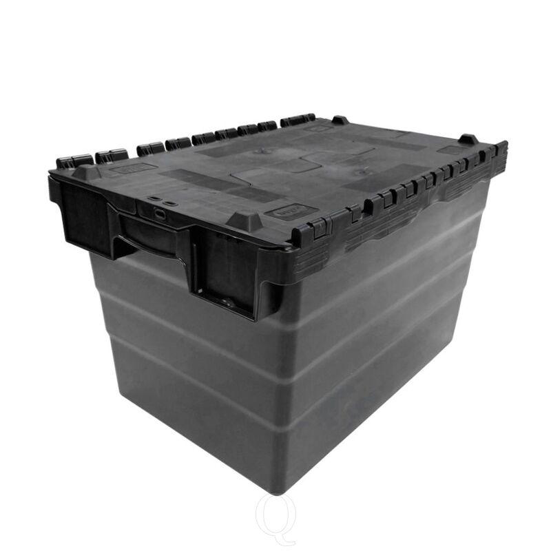 Transportkrat Distributiekrat 600x400x365 zwart
