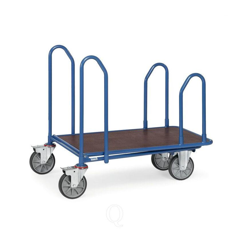 Cash & carry wagen 400 kg 1000x700 (lxb) met 4 zijbeugels