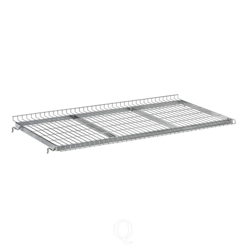 Draadgaas etage voor orderverzamelwagens met laadvlak 650x510 mm (lxb)