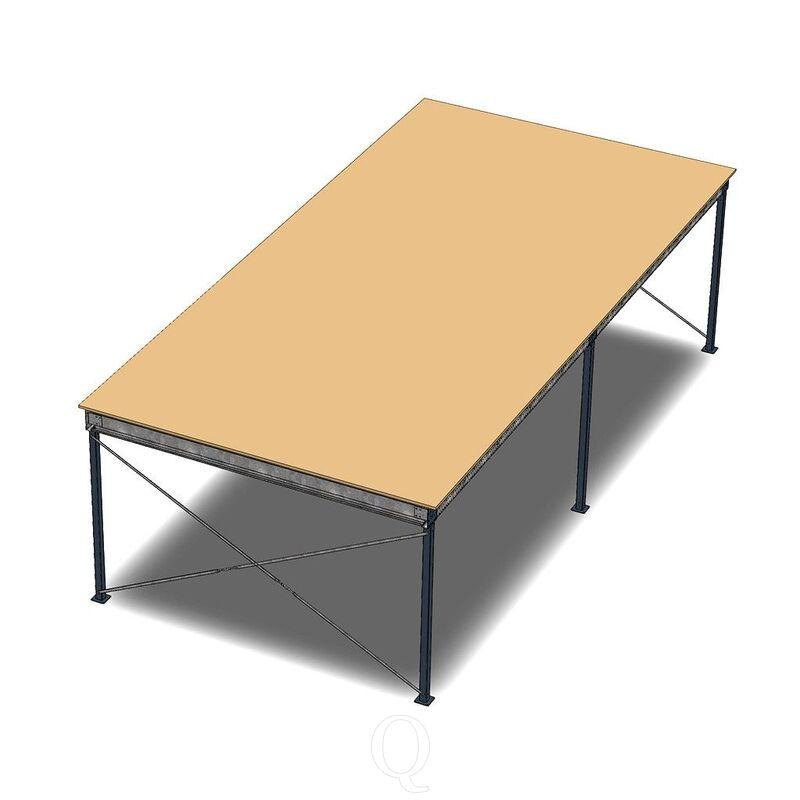 Entresolvloer, verdiepingsvloer, tussenvloer 10300x5000x3200