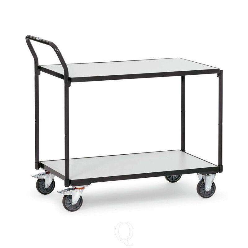 ESD tafelwagen 300 kg, 2 etages 850x500 (lxb)
