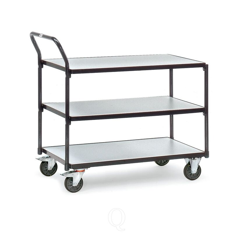 ESD tafelwagen 300 kg, 3 etages 850x500 (lxb)