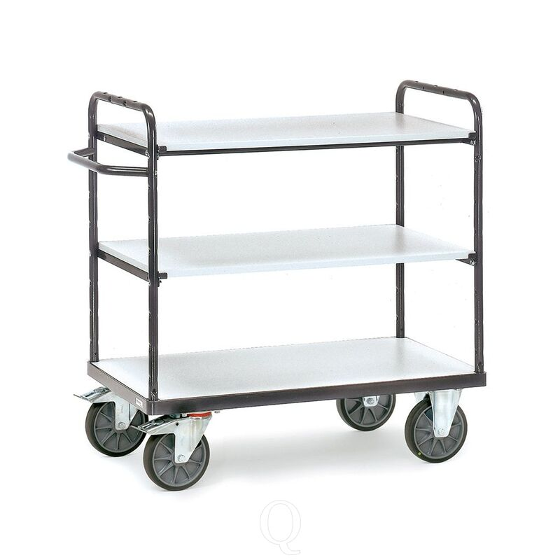 ESD tafelwagen 500 kg, 3 etages 850x500 (lxb)