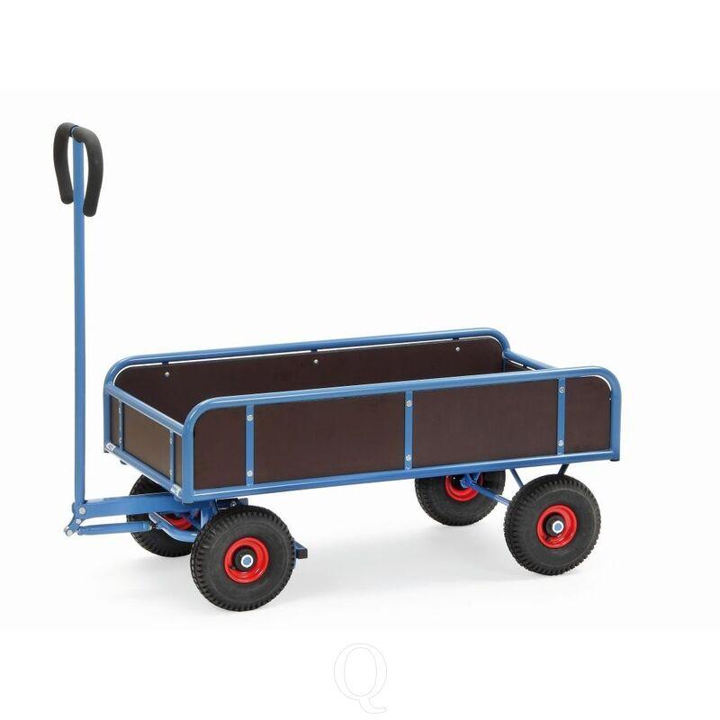 Handtrekwagens 2-assig met 4 wanden 4122