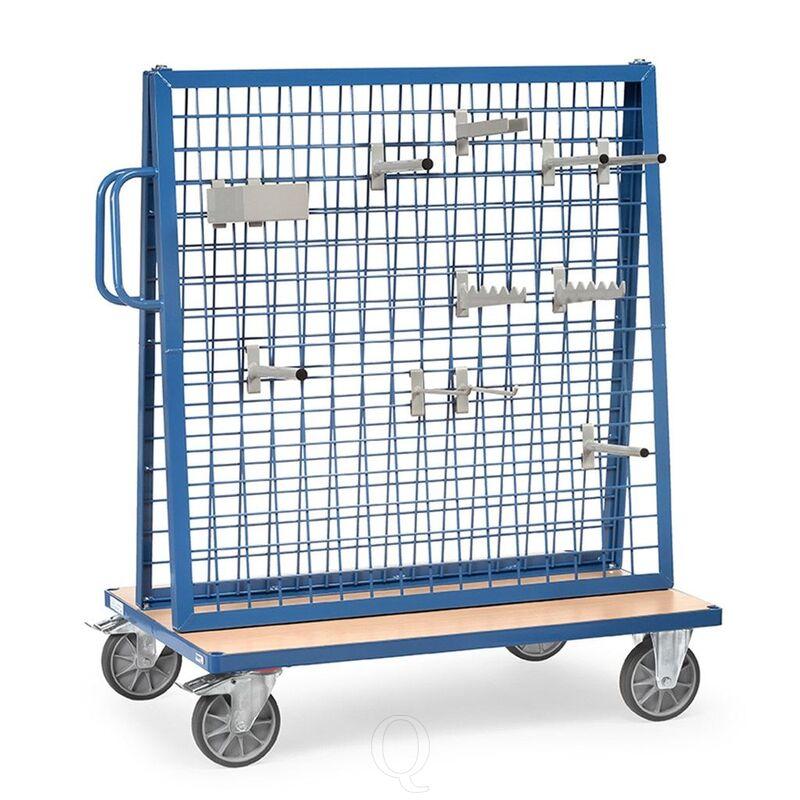 Materiaalwagen 600 kg 1200x800 mm (lxb) dubbelzijdig