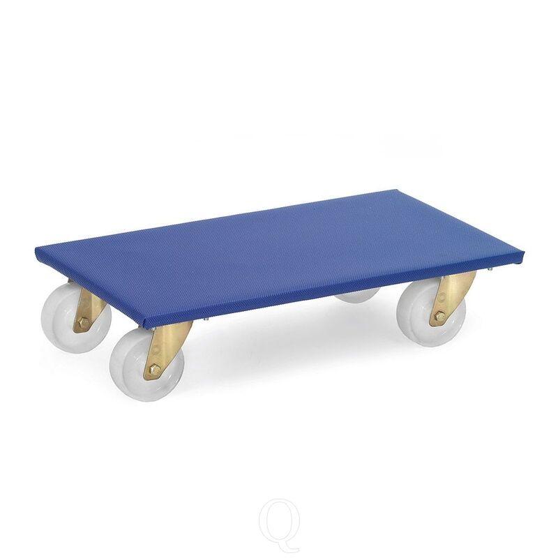 Meubelroller, meubelrolplateau 350 kg, 600x300 - 2 stuks