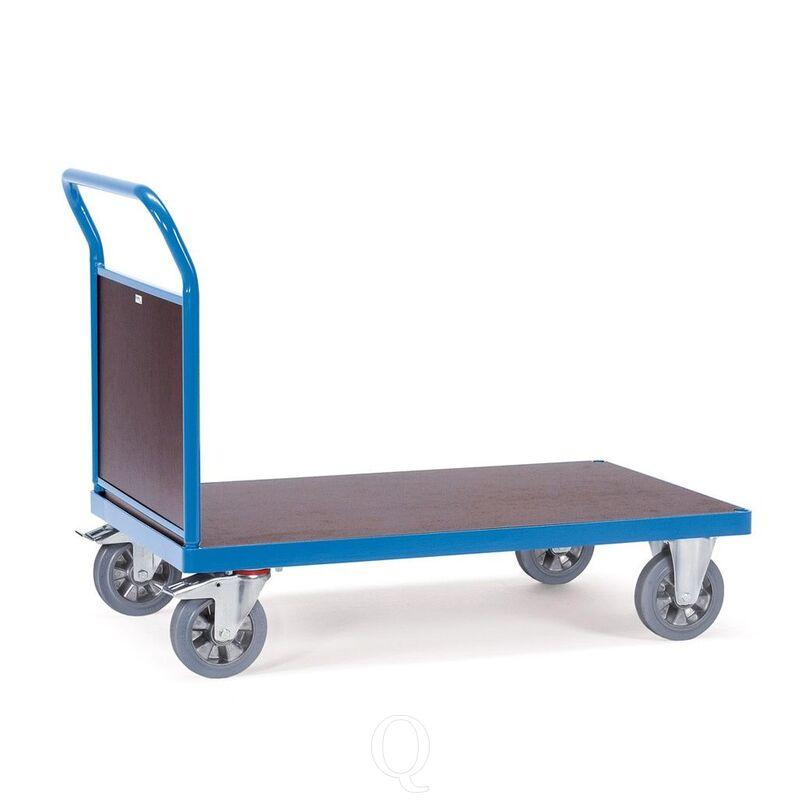 Platformwagen, zwaarlastwagen 1200 kg 1600x800 met gesloten duwbeugel