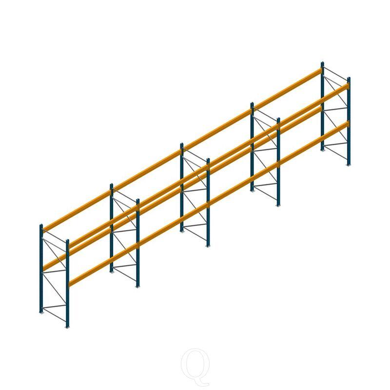 Voordeelrij palletstelling Apersa 3000x11180x1100 2 niveaus