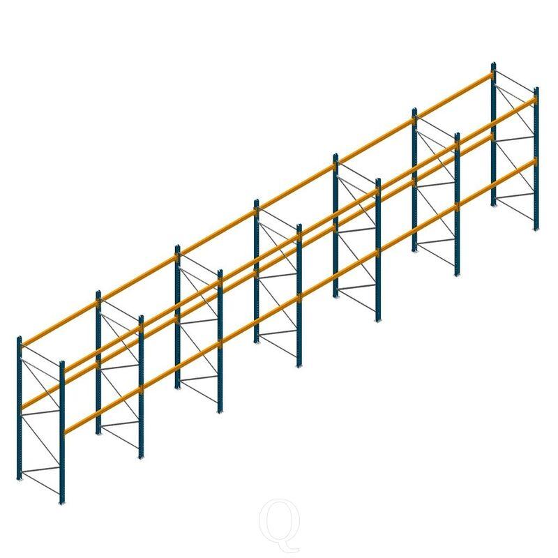 Voordeelrij palletstelling Apersa 3000x11632x1100 2 niveaus