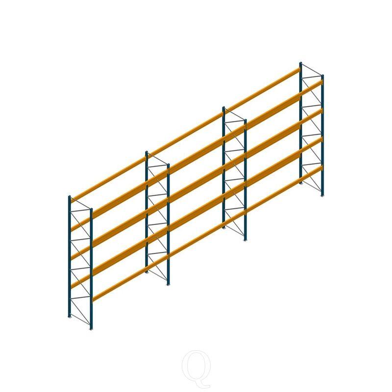 Voordeelrij palletstelling Apersa 5000x11104x1100 4 niveaus