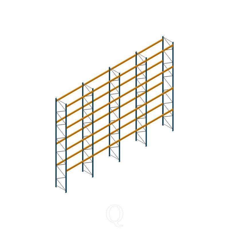 Voordeelrij palletstelling Apersa 8000x11180x1100 4 niveaus
