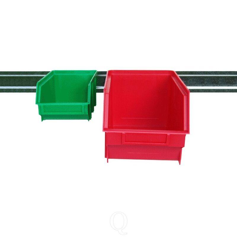 Wandrail voor stapelbakken 500mm verzinkt