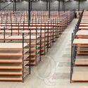Beginsectie AR grootvakstelling 2500x1850x400 - 2 niveaus