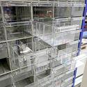 Tussenschot voor assortimentskast, onderdelenkast 132 bakken 1810x780x230 mm (hxbxd)