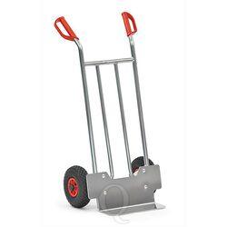 Aluminium steekwagen 150 kg 1150 mm met rubberbanden, 150 mm schep