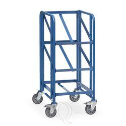 Bakkenwagen 250 kg met 3 etages 410x610, open frame