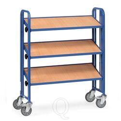 Bakkenwagen 250 kg met 3 houten etages 900x315 kantelbaar