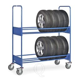 Bandenwagen 250 kg met 2 laadvlakken