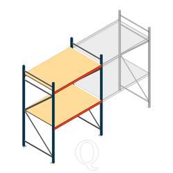 Beginsectie AR grootvakstelling 2000x1500x1000 - 2 niveaus