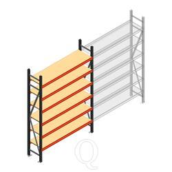 Beginsectie AR grootvakstelling 2000x1500x500 - 6 niveaus