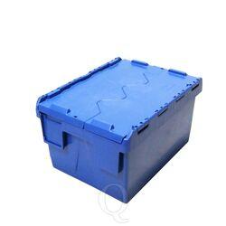 Begra distributiebak, transportbak 400x300x225 blauw