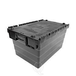 Transportkrat Distributiekrat 600x400x320 zwart