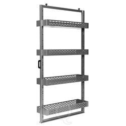 Frame met schappen voor toolpanel stand