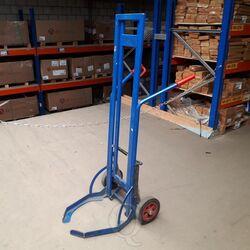 Gebruikte bandensteekwagen 650x700x1650 blauw