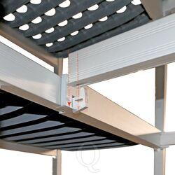 Hoekverbinding hygiënische stelling 6611/6622/6811 diepte 460 mm - 4 niveaus