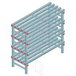 Kunststof stelling, rek 1150x1200x500, 4 niveaus