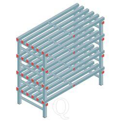 Kunststof stelling, rek 1150x1200x600, 4 niveaus