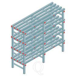Kunststof stelling, rek 1300x1500x500, 4 niveaus